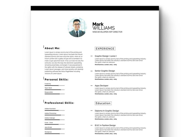 Более 25 лучших идей на тему «Free printable resume» на Pinterest - free printable resume template