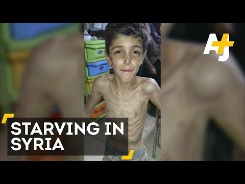 Children Are Starving To Death In Madaya, Syria - YouTube