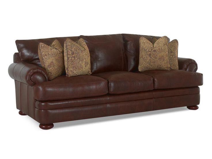 Klaussner Living Room Montezuma Sofa W Lthr S