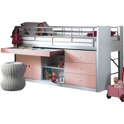Found it at Wayfair.co.uk - Bonny European Single Mid Sleeper Bed with Storage