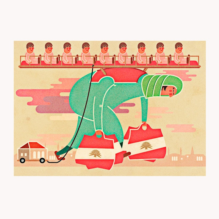 Editorial Illustration for Monocle, by Vesa Sammalisto