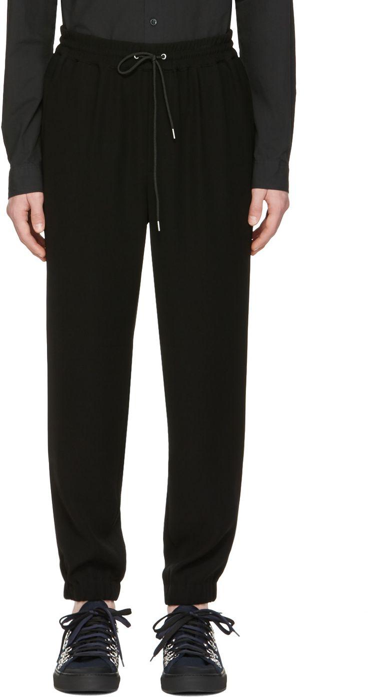 330€ McQ Alexander Mcqueen - Pantalon de survêtement noir Tailored