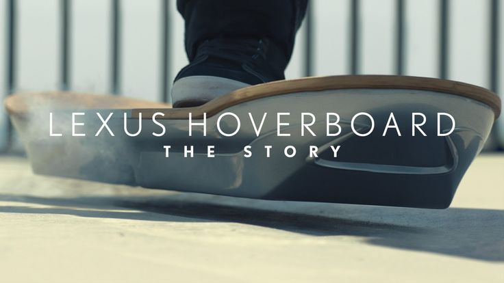 "Watch how they mastered hover technology.. The Lexus Hoverboard. Recommended by Sumita Mukherjee"" author of keiko and kenzo educational adventure books. www.keikokenzo.com"