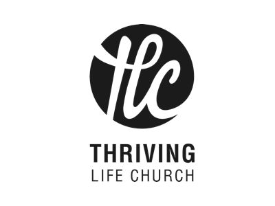 Thriving Life Church Looks like an H...but yes to scripted monogram