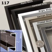 order a complete metal picture frame kit choose your favorite frame style mat board mounting board or frame backing and acrylic or glass glazing