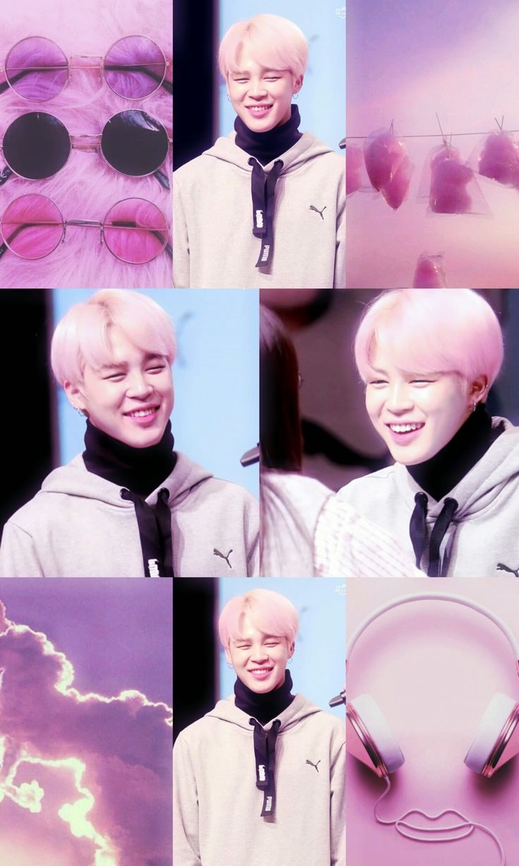 Cute Wallpaper Jimin pink