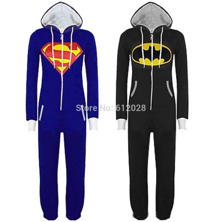 New Womens Mens Superman Batman Superhero Costume Onesie Playsuit Comic All In One Piece Jumpsuit for Unisex-in Costumes from Apparel & Accessories on Aliexpress.com | Alibaba Group