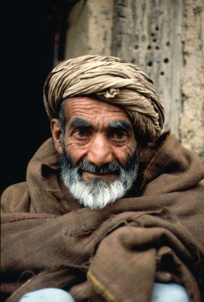 A tribesman, from the surrounding mountains, in the Kabul Bazaar. Follow us on Twitter@: https://twitter.com/everydaychild