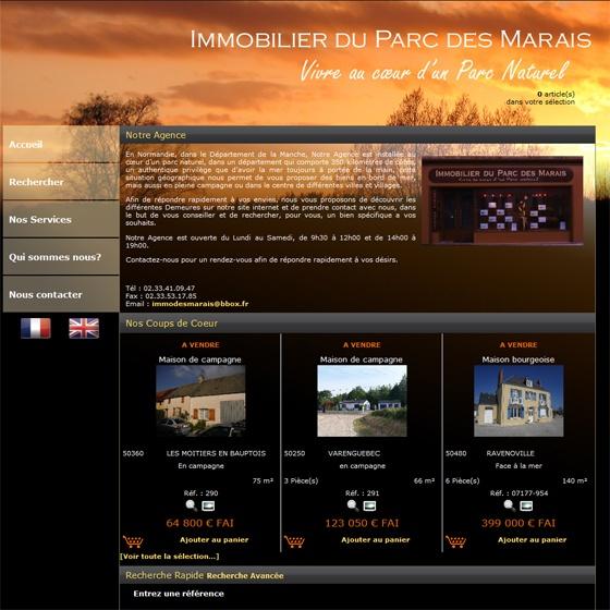 IMMOBILIER DES MARAIS - http://www.immodesmarais.com/
