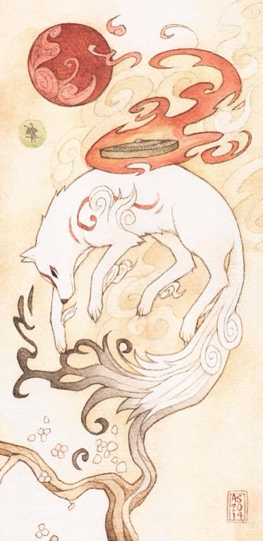 I just love Amaterasu
