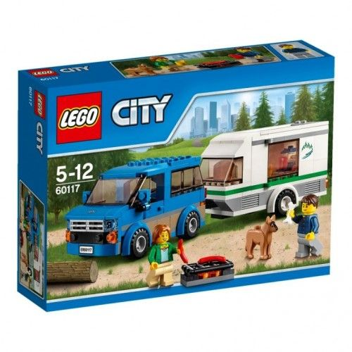 Lego 60117 Busje & caravan