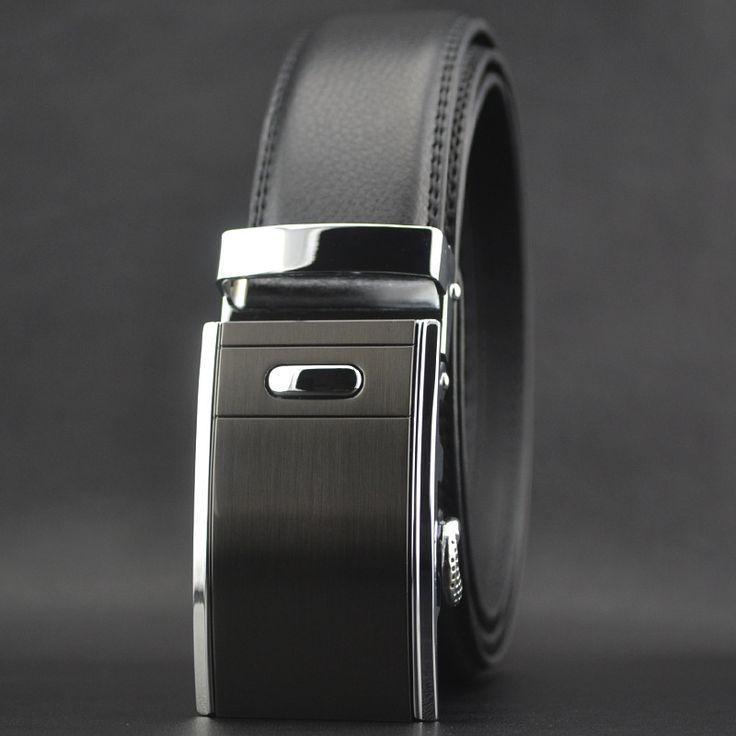 2016 hot mens cheap designer belts 100% cowskin leather Automatic buckle belt male business strap cowboy cintos masculino W168