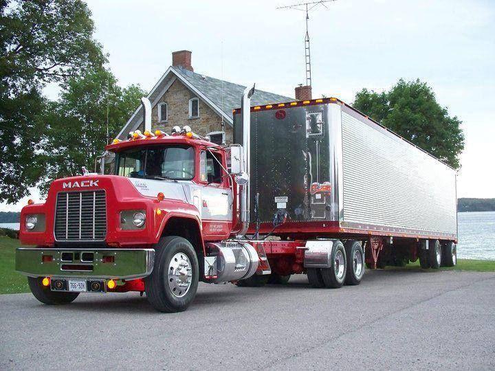 R Model Mack Show Truck : Best images about mack superliner r etc