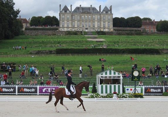 WEG eventing: William Fox-Pitt leads after first day of dressage - Horse & Hound
