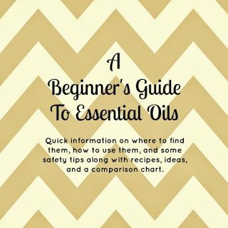 Beginner's Guide To Essential Oils including tons of recipes, blend ideas, uses,