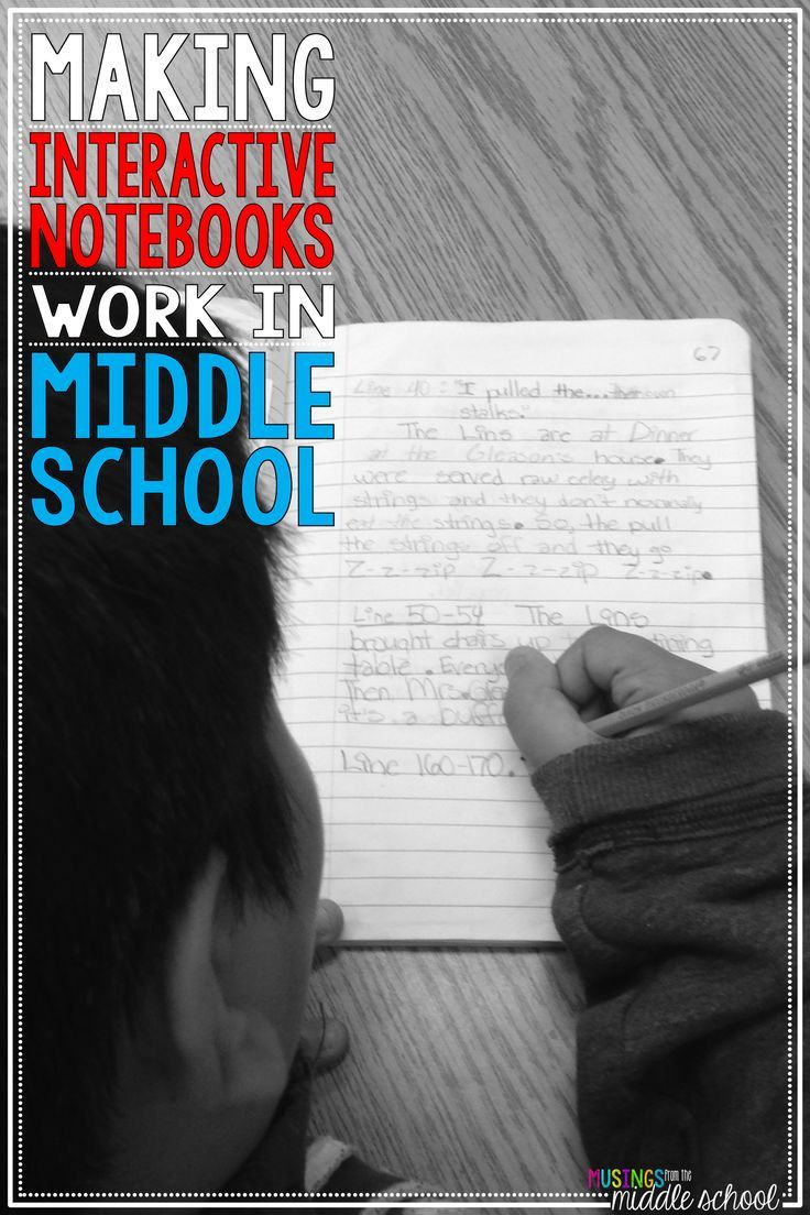 A VIDEO post all about using Interactive Notebooks in middle school.