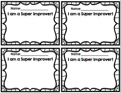 Super Improver Wall {Whole Brain Teaching}