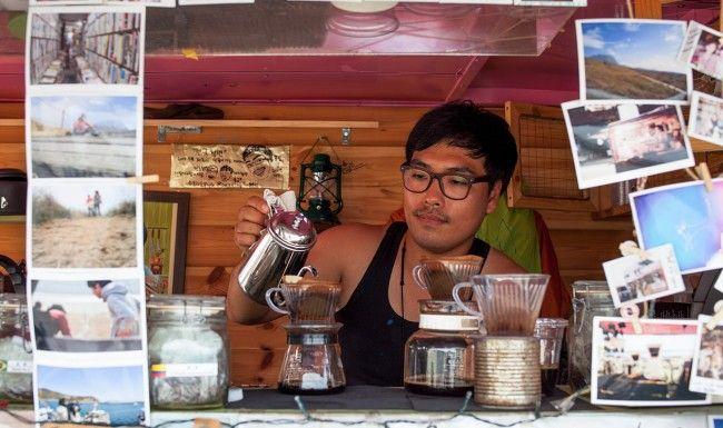 Hyundu Kim Gonggan Coffee Truck, South Korea
