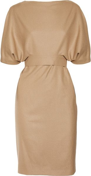 GUCCI Belted Woolblend Dress. How depressing I cant afford that lol.....I can soooo see me in it.