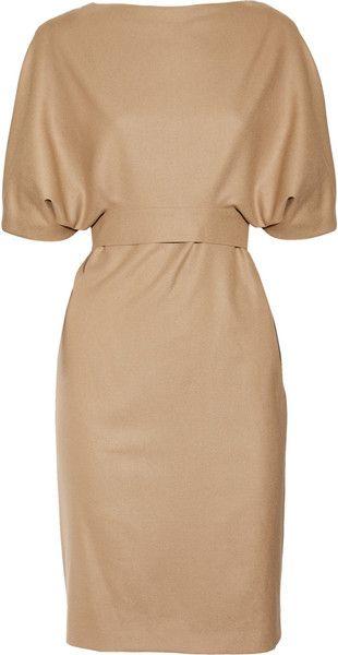 GUCCI Belted Woolblend Dress