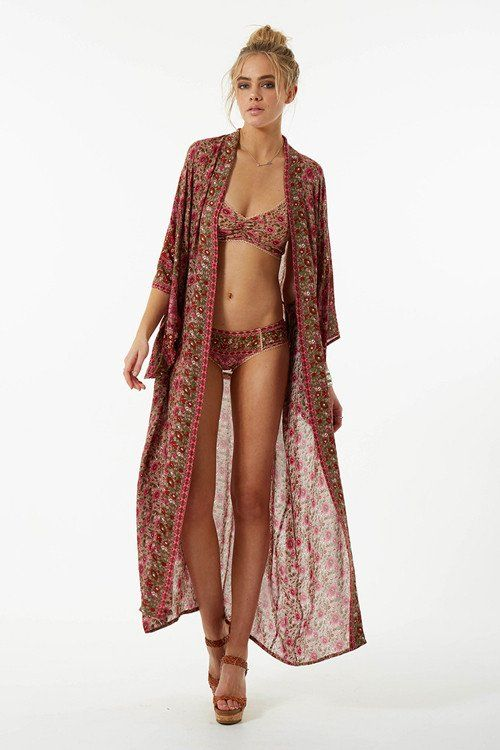 Kombi Maxi Kimono - The Freedom State  - 1