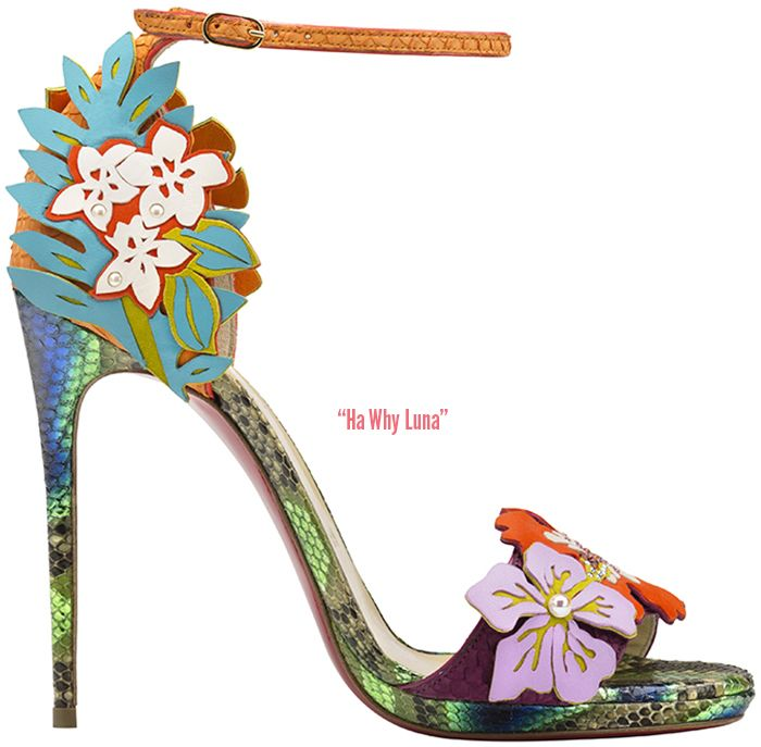 For Spring Christian Louboutin draws inspiration from the iconic woman of  the continue reading ?