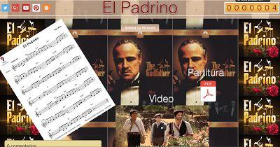 PARTITURAS A TU DISPOSICIÓN: EL PADRINO (NINO ROTA)