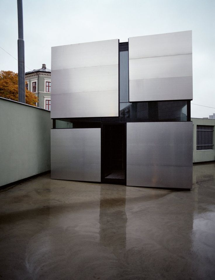 Boxhome a project by rintala eggertsson architects - Maison ribatejo y atelier nuno lacerda lopes ...