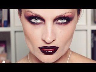 Modern Gothic Vamp Makeup | pixiwoo - YouTube | Bloglovin'