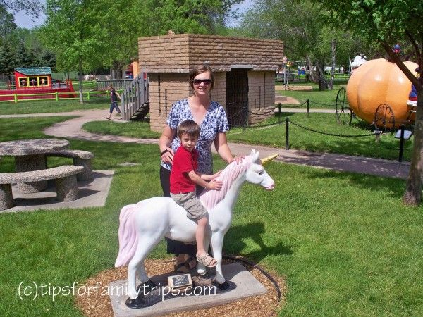 OK - I gotta go here before my kids are too big! Storybook Island is a free park themed after nursery book rhymes, located near Mount Rushmore in South Dakota.