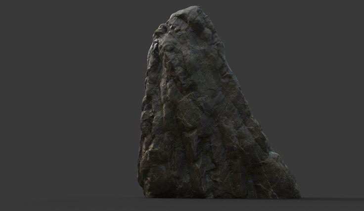 ArtStation - Rock Collection Vol 2 - Jungle Rocks, Alen Vejzovic