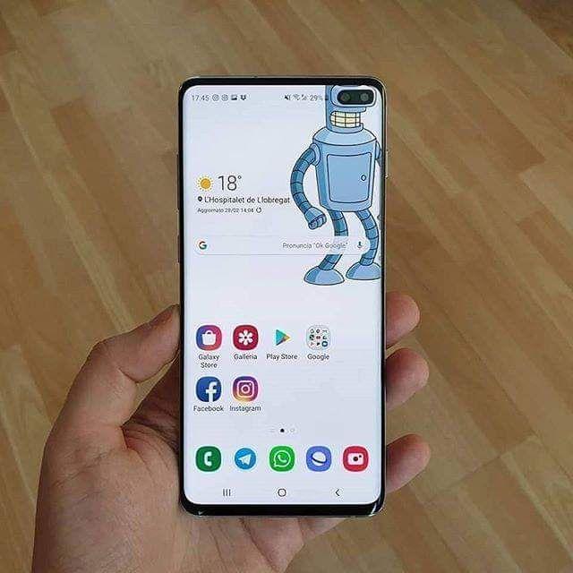 تحميل خلفيات PunchHole Camera Wallpapers للهواتف Samsung