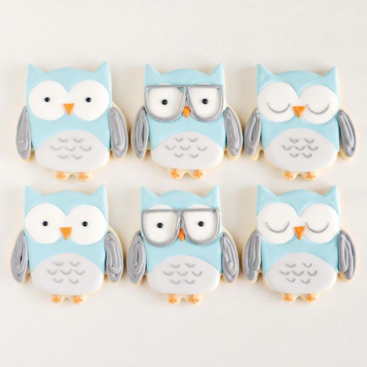 WHOOO else thinks these #owlcookies are the... - I Dream of Cookies