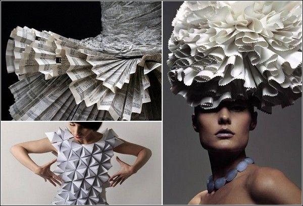 Irina Rudova's Blog - Самые красивые и необычные платья из бумаги