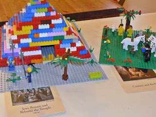 Recreate the Scene with Legos - CC Acts and Facts History Cards
