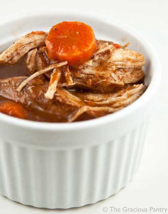 {clean | slow cooker cinnamon chicken}