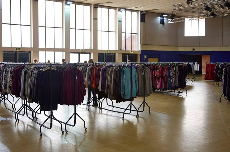 Clothes rails delivered next day to a retail sale event in Bournemouth