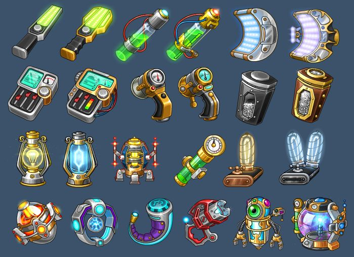 Icons for game 2 by *Kifir on deviantART