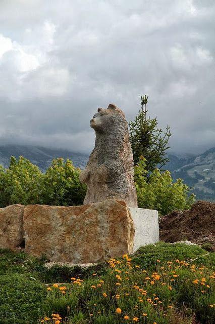 La famille ours de Villard-de-Lans