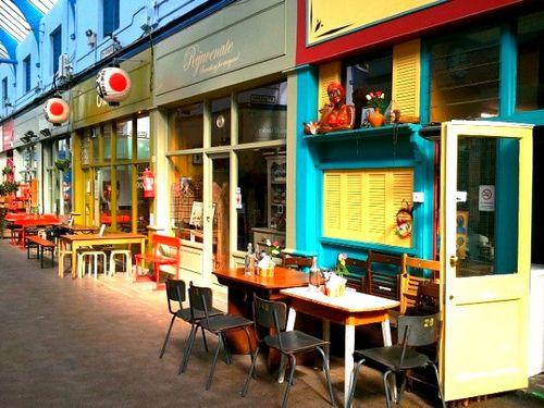 Restaurants in Brixton Village in south London: http://www.europealacarte.co.uk/blog/2013/05/13/brixton-photos/