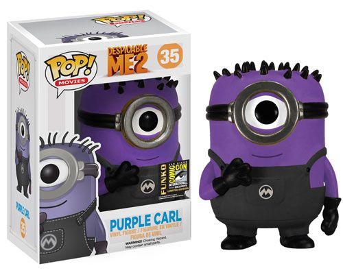 Funko POP! Movies: Despicable Me 2 - Purple Carl SDCC 2014 Exclusive Vinyl Figure