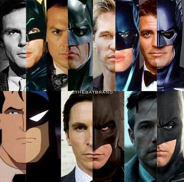 As much as I'm not a fan of Ben Affleck, I do think he closest resembles Batman from the comics so... He gets my vote.
