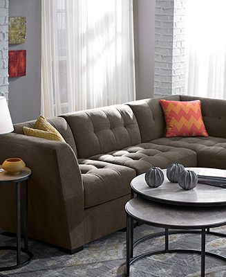 Roxanne Fabric Modular Living Room Furniture Collection With Sets U0026 Pieces    Living Room Furniture