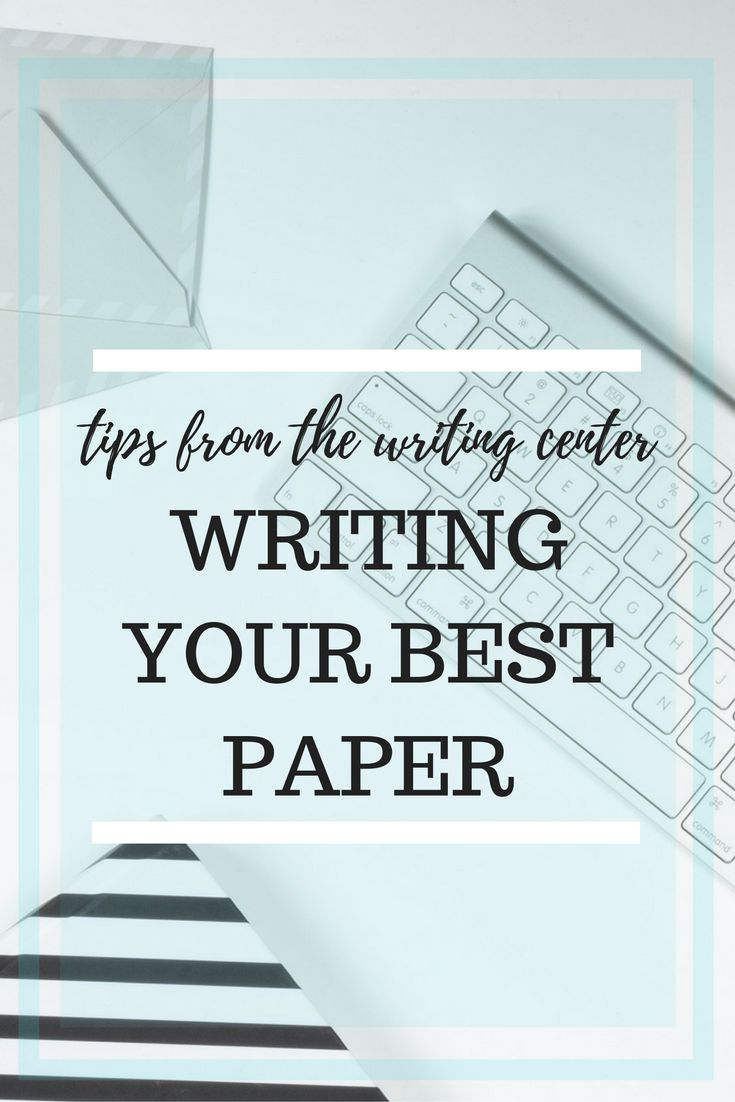 These tips from the writing center will help transform your college essay into the best paper you've ever written in college!