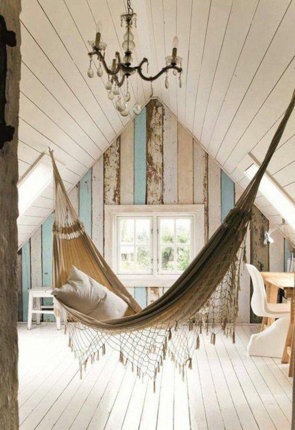 Design intérieur –la  balançoire dans le salon ou la chambre à coucher