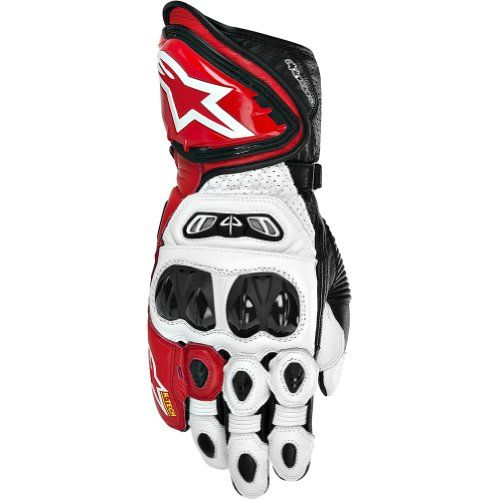 Special Offers - Alpinestars GP Tech Mens Leather Street Bike Racing Motorcycle Gloves  White/Red/Black / Large - In stock & Free Shipping. You can save more money! Check It (August 11 2016 at 12:15AM) >> http://motorcyclejacketusa.net/alpinestars-gp-tech-mens-leather-street-bike-racing-motorcycle-gloves-whiteredblack-large/