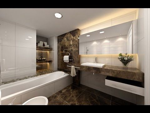 Bathroom Organized Interior Decor Design