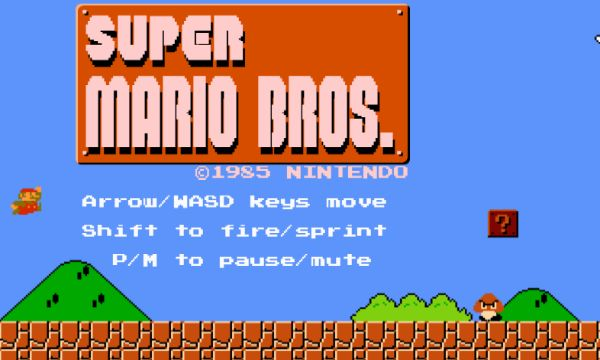Play Super Mario Bros Online with a HTML5 Browser Port With Level Designer #mario #opensource #newmario