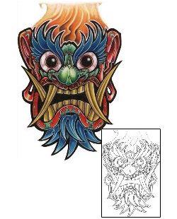 Fantasy Tattoo Design AAF-08428 | TattooJohnny.com