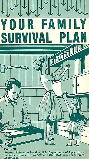 #Prepper #Survival - 1963 ... survival plan!